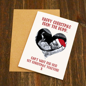 Happy Christmas From Bump Christmas Card