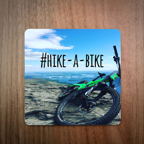 Hike-A-Bike MTB Photo Bike Coaster