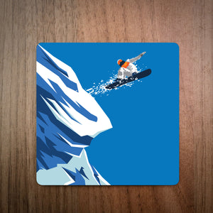 Leap Of Faith Snowboard Coaster