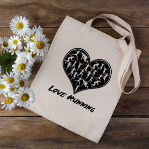 Love Running Runners Tote Bag