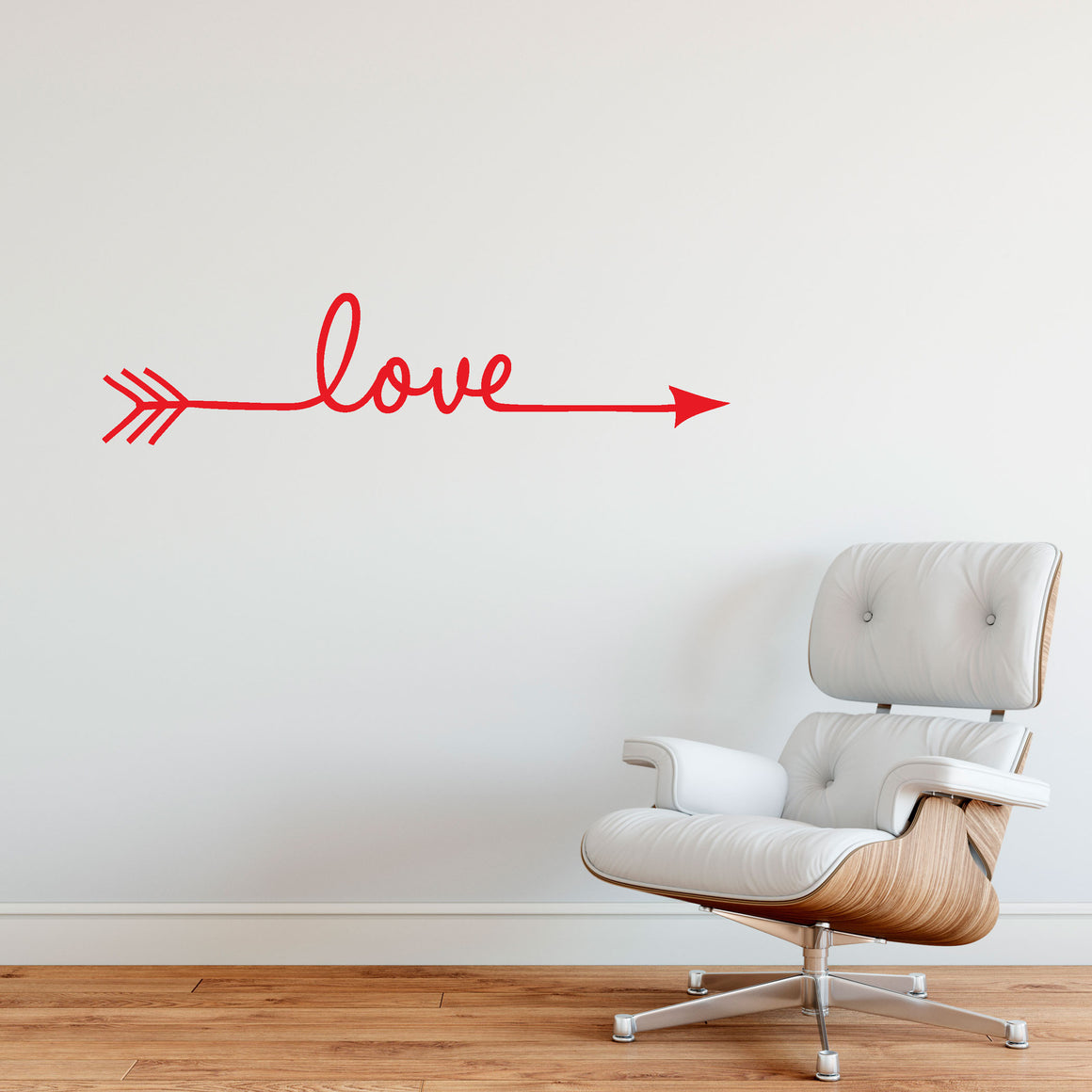 Love Arrow Vinyl Wall Art