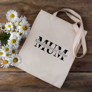Massively Underpaid Mum Tote Bag