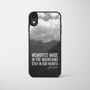 Memories Made In The Mountains Phone Case