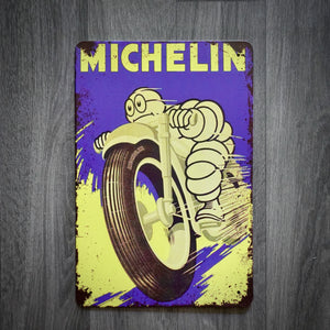 Michelin Tin Retro Garage Sign