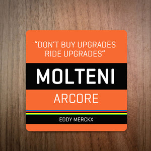 Classic Race Edition Eddy Merckx Ride Up Grades Cycling Coaster