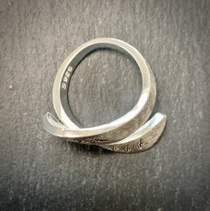 Pewter Mountains Wrap Around Ring - One Size