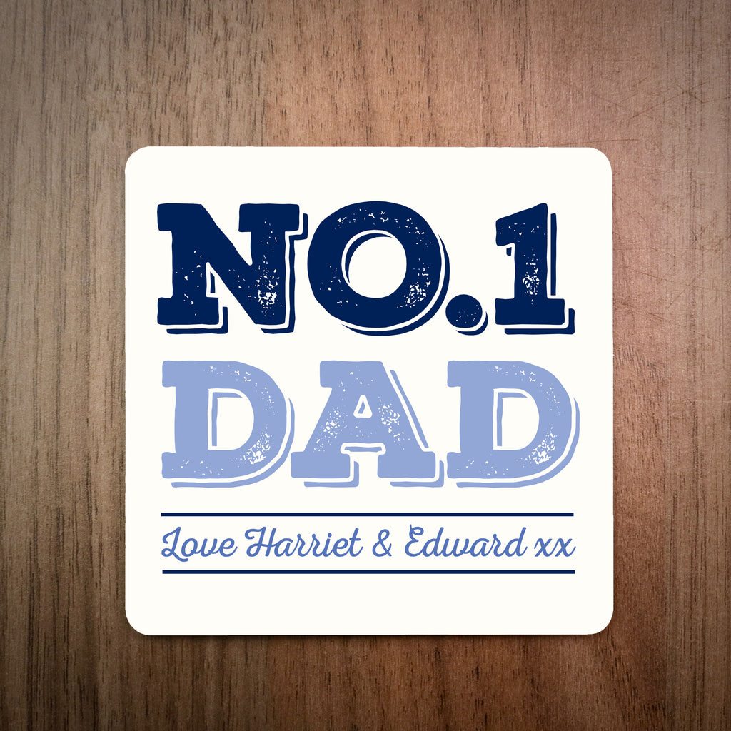 No.1 Dad Coaster