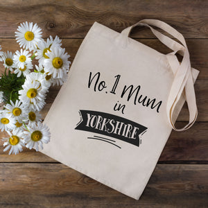 No.1 Mum In.... Tote Bag