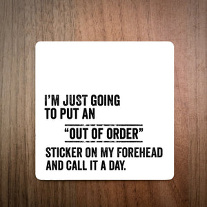 Out Of Order Coaster