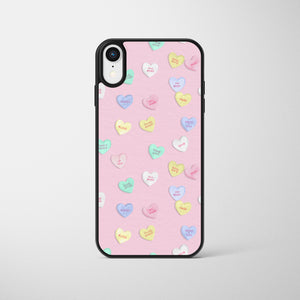 Pink Love Heart Sweets Phone Case
