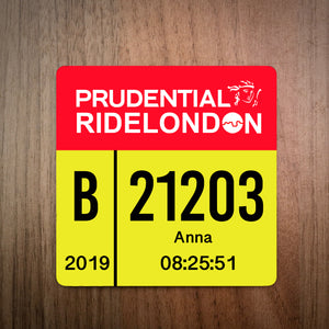 Ride London Race Plate Coaster