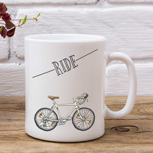 Ride - Road Bike - Cycling Mug