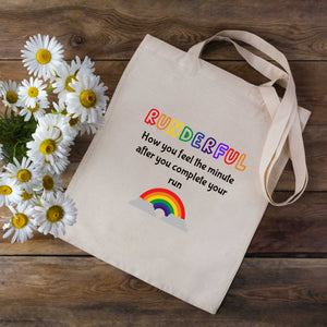 Runderful Rainbow Tote Bag