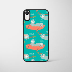 Chilling Cute Sloths Phone Case