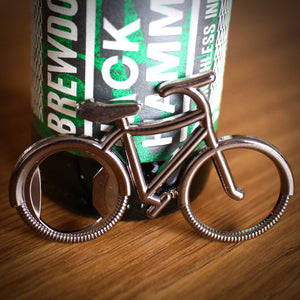 Stainless Steel Bike Bottle Opener