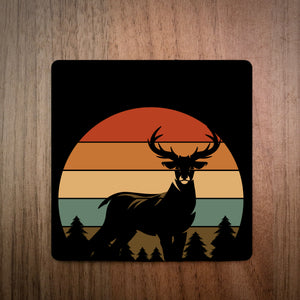 Sunset Deer Coaster