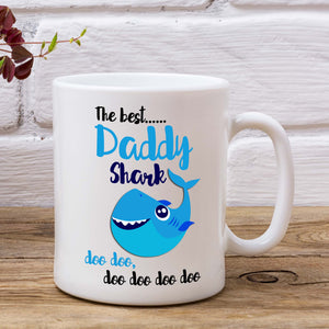The Best Daddy Shark Doo Doo Doo Mug