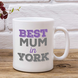 Best Mum/Mummy In... Personalised Mug