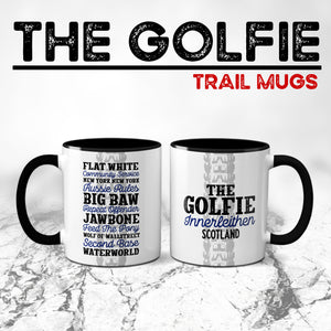 The Golfie Innerleithen Mountain Bike Trail Mug