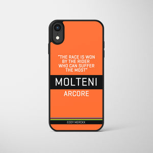 The Race Is Won Classic Merckx Race Edition Phone Case