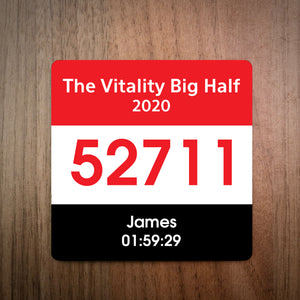 The Vitality Big Half Marathon Bib Coaster