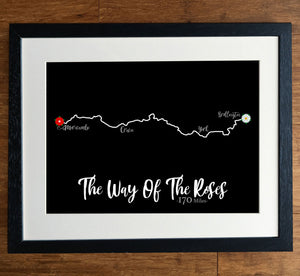 The Way Of The Roses Print
