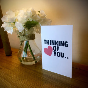 Thinking Of You..... Naked Valentine's Card
