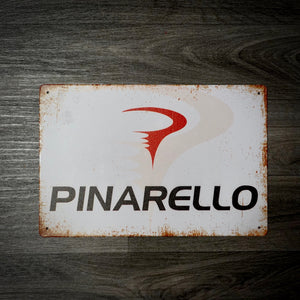 Pinarello Classic Tin Retro Cycling Sign
