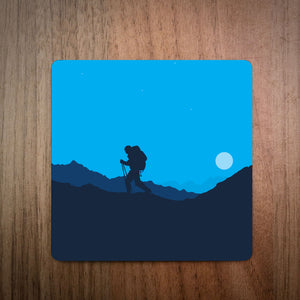 Winter Climbing Mountaineering Coaster