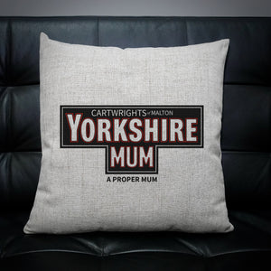 Personalised Yorkshire Mum Cushion | Yorkshire Tea