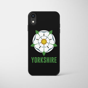 Yorkshire White Rose Phone Case