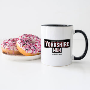 Yorkshire Mum Personalised Tea Mug