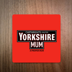 Yorkshire Tea Mum Personalised Coaster