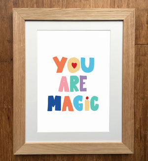 You Are Magic Nursery Print