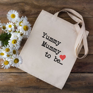 Yummy Mummy To Be Tote Bag