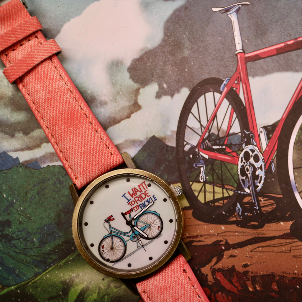 I Want To Ride My Bicycle Women's Watch