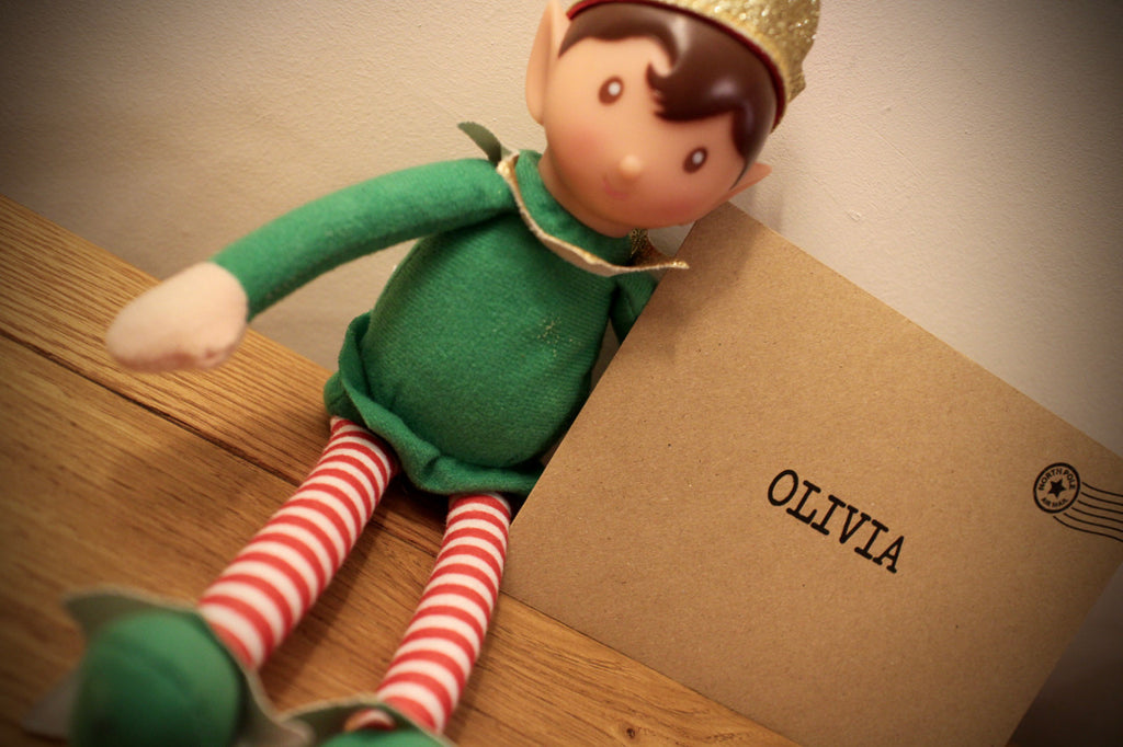 Elf - Personalised Good Bye Poem Personalised Postcard