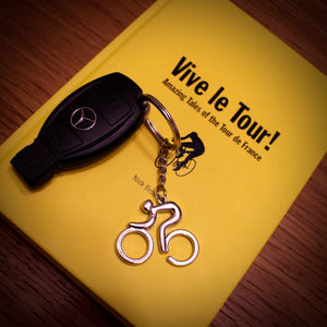 Alloy Road Bike Keyring