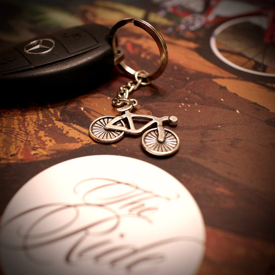 Alloy Mountain Bike Keyring