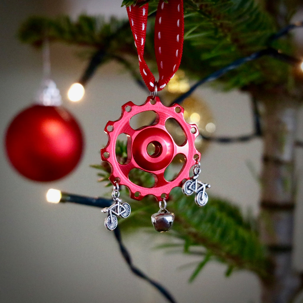 Jockey Wheel Christmas Tree Decoration - MTB Bell
