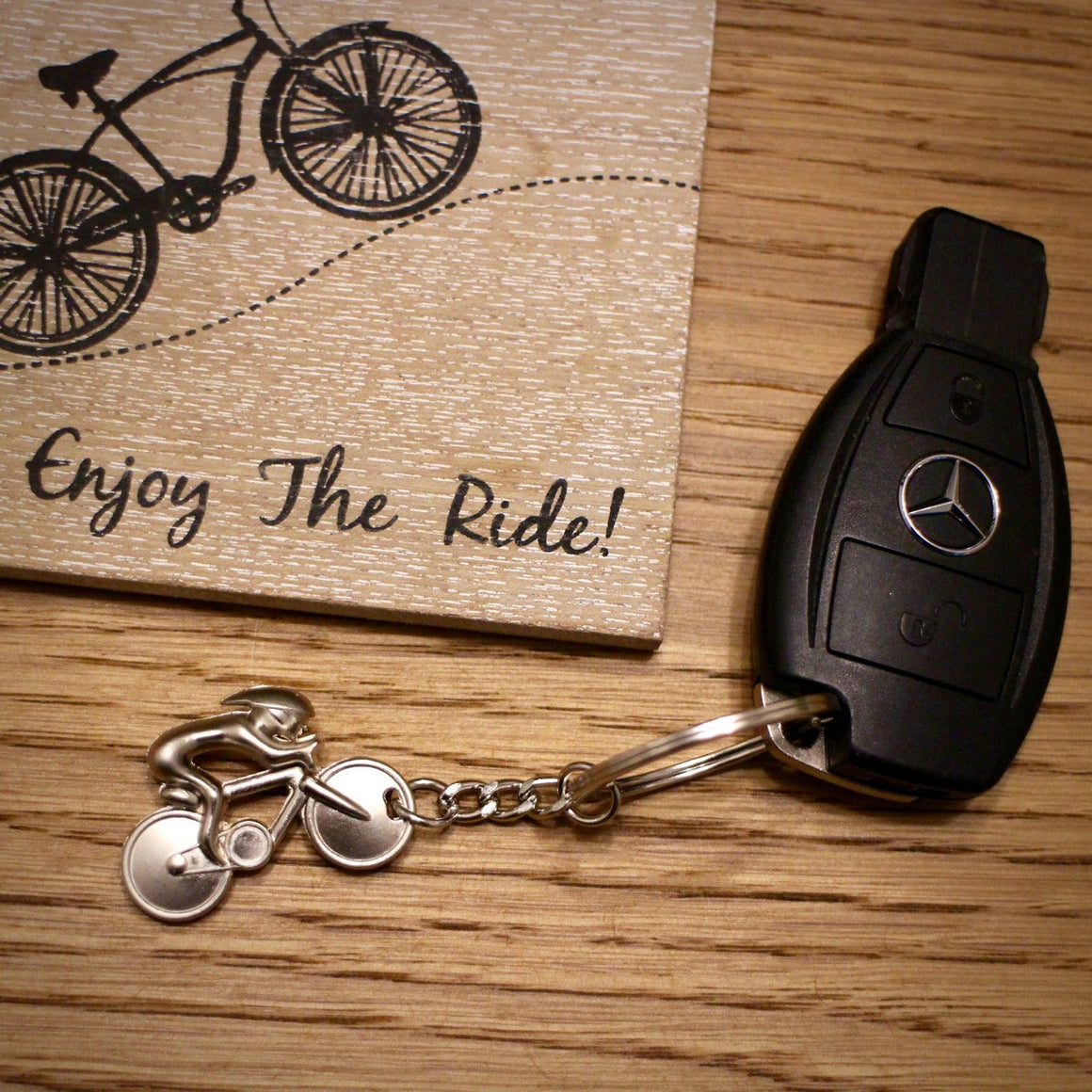 Alloy 3D Road Bike Keyring