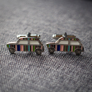 Striped Classic Mini Cufflinks