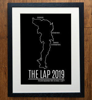 The Lap GPS Personalised Print