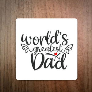 World's Greatest Dad Coaster