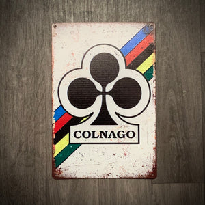 Colnago Tin Retro Cycling Sign