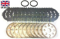 BRAKE & COUNTER PLATE SET WITH SEAL (451/01702,451/22702,813/00184)