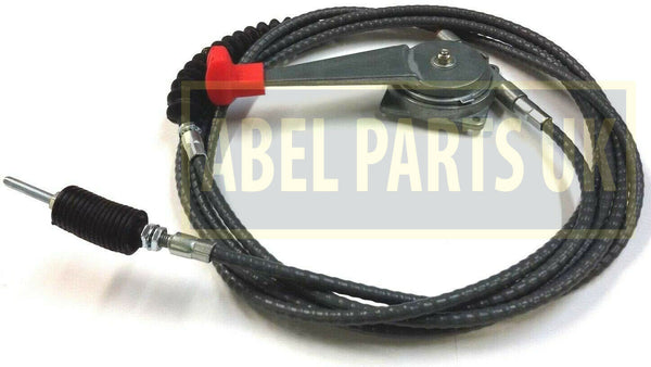 CABLE ASSY C/W HANDLE FOR JCB 3CX, 4CX (PART NO. 910/45400)