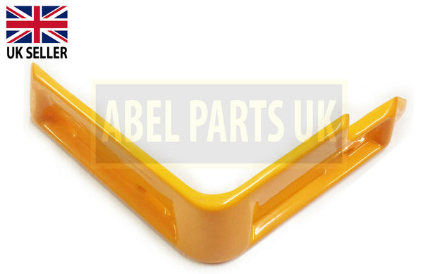 LEFT HAND PIPE COVER (YELLOW) FOR 3CX, 4CX ETC. (PART NO. 123/06143)