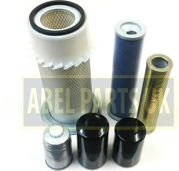 FILTER KIT P8 TURBO AB SN 400000 - 430000 FOR SNYCRO AND P/S TRANS