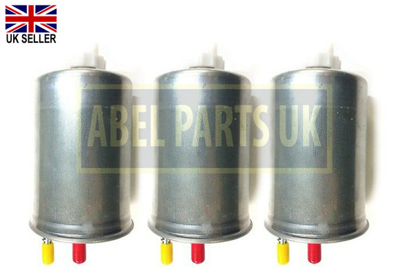 FUEL FILTER FOR JCB ENGINE SET OF 3PC'S (320/07155 or 320/07394)